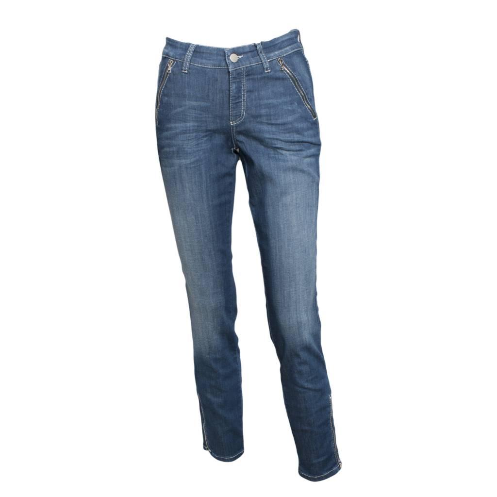 Cambio Pearlie Jeans - Denim - Pomegranate La Jolla