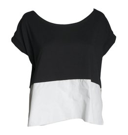 Xenia Xenia Ebo Shirt - Black w/ White