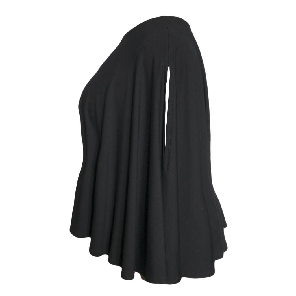 Avivit Yizhar Avivit Yizhar Cold Shoulder Top - Black