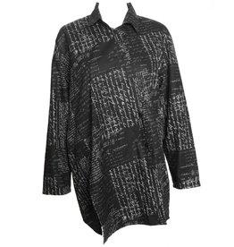 Xiaoyan Writing Shirt - Black/Grey