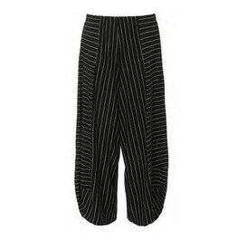 Alembika Alembika Stripey Pants - Black w/ White Stripes