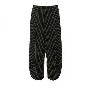 Alembika Alembika Stripey Pants - Black w/ White Stripes