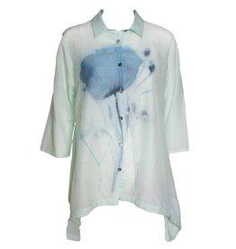 Yoshi Yoshi Yoshi Yoshi Drawstring Shirt - Mint