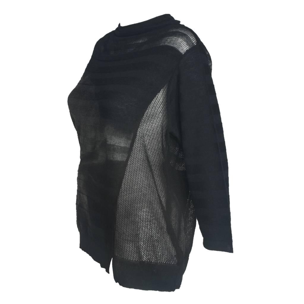 Yoshi Yoshi Yoshi Yoshi Print Sweater - Black