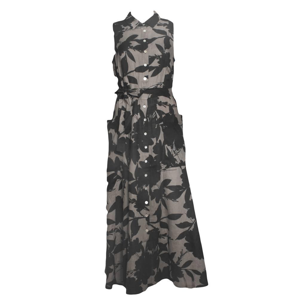 Alembika Alembika Sleeveless Shirt Dress - Autumn