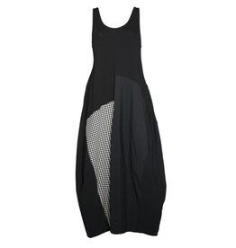 Alembika Alembika Sleeveless Dress Mix Fabric