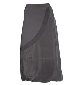 Crea Concept Crea Concept Mixed Media Skirt - Slate