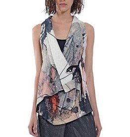 Crea Concept Crea Concept Painted Vest