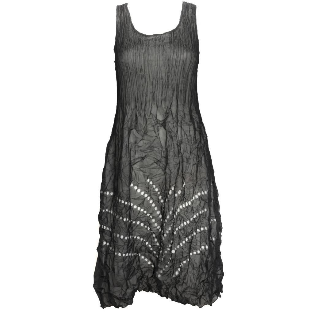 Alquema Alquema Laser Hem Dress - Black/Ivory