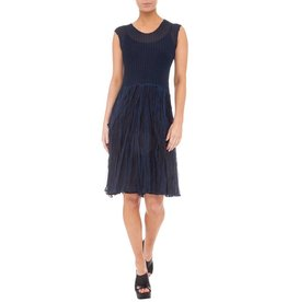 Alquema Alquema Check Dress - Ink/Blk