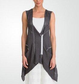 Crea Concept Crea Concept Knit Vest - Grey