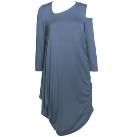 Elsewhere Elsewhere Jersey Dress - Vintage Blue