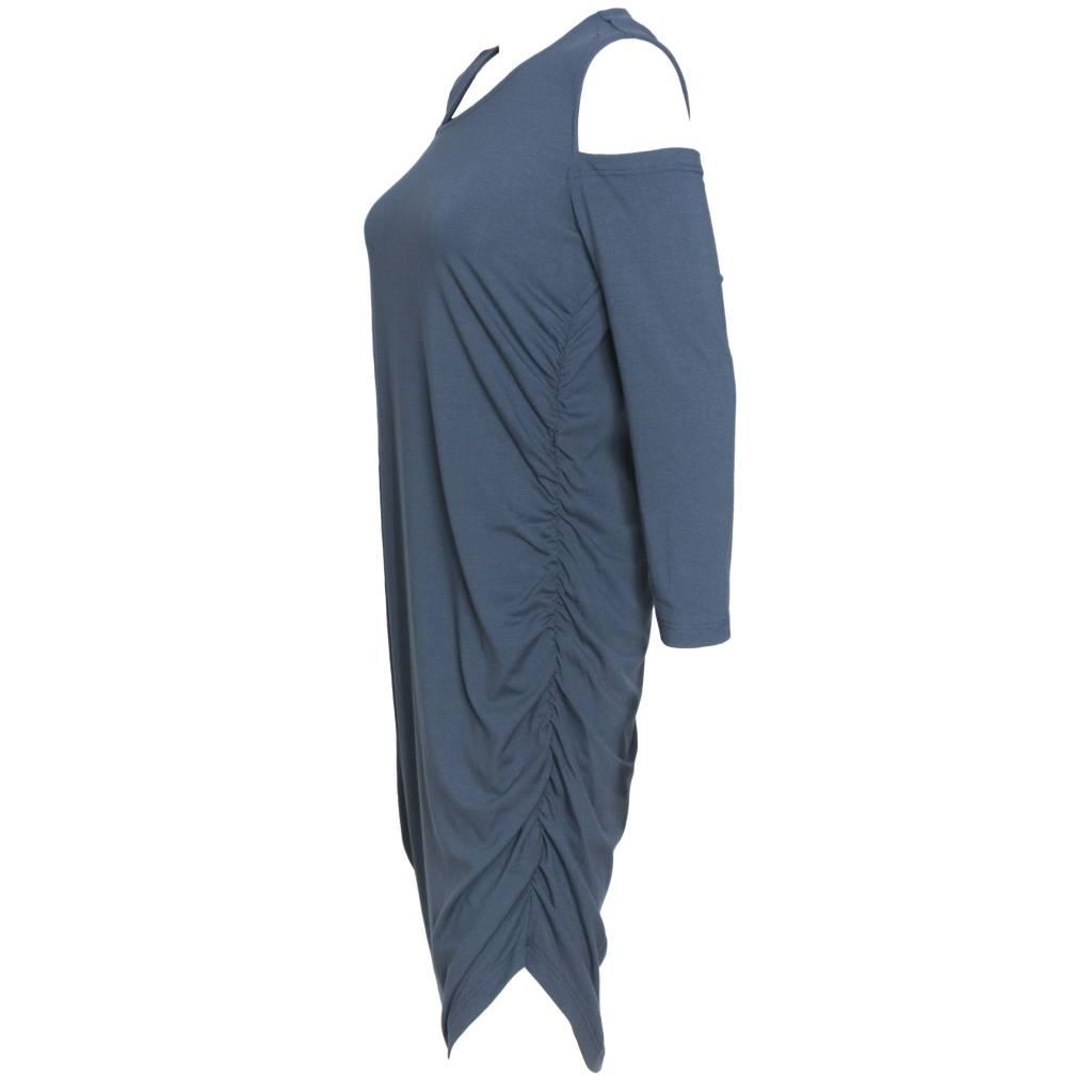 Elsewhere Elsewhere Jersey Dress - Vintage Blue