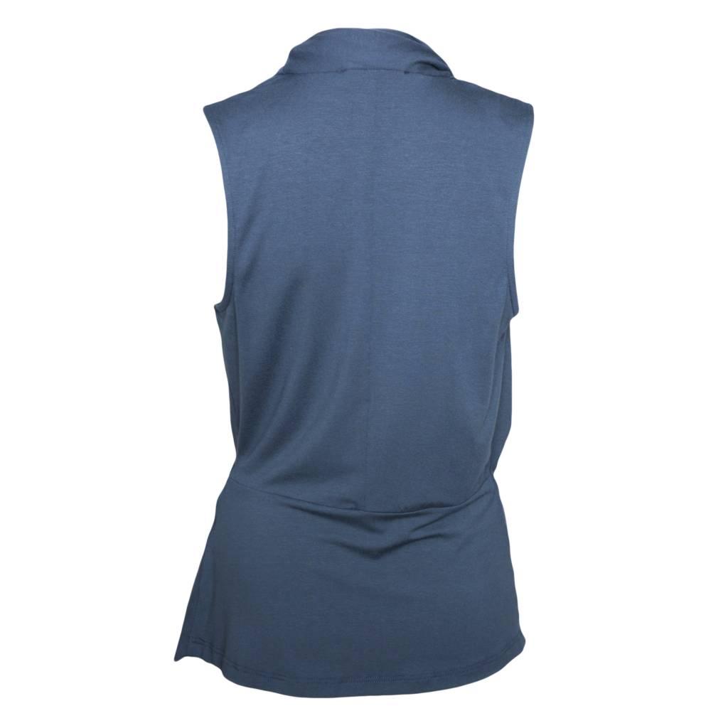 Elsewhere Elsewhere Jersey Top - Vintage Blue