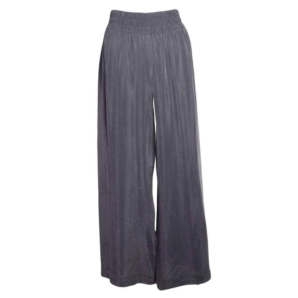 Crea Concept Crea Concept Full Leg Pants - Grey