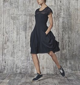 HIGH High Mikado Dress - Black