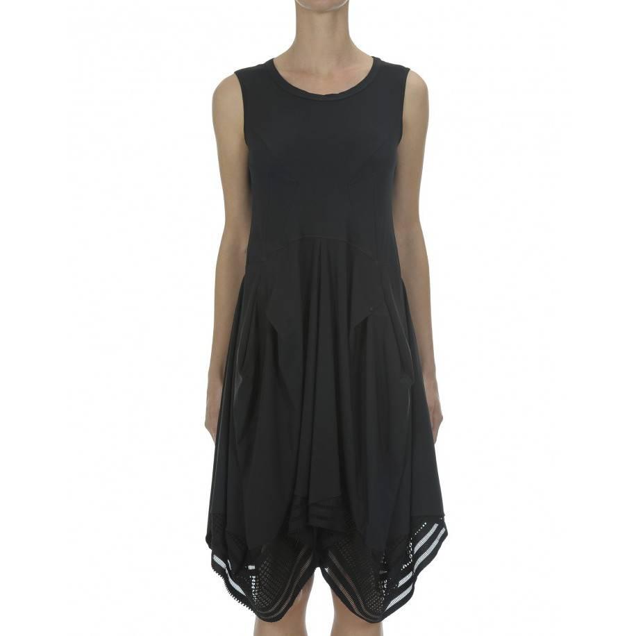 HIGH High Cubist Dress - Black