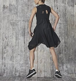 HIGH High Cubist Dress - Black