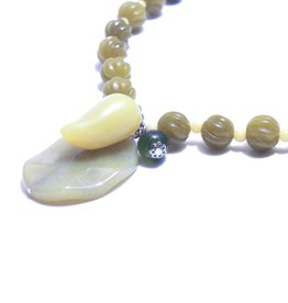Jianhui Jianhui Carved Jade Necklace