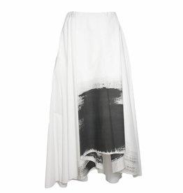 Nuovo Borgo Nuovo Borgo Skirt - White w/ Black
