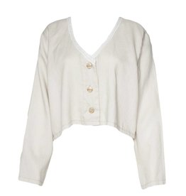 Bodil Bodil Crop Keys Jacket - Beige
