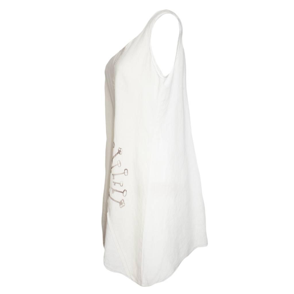 Bodil Bodil Keys Tunic - White/Beige