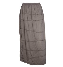 Bodil Bodil Narrow Skirt - Soft Beige/Brown