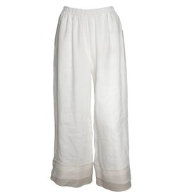 Bodil Bodil Full Pants - White/Beige