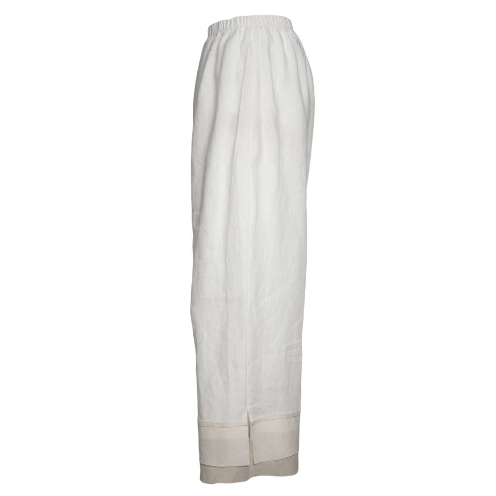 Bodil Bodil Full Pants - White/Beige