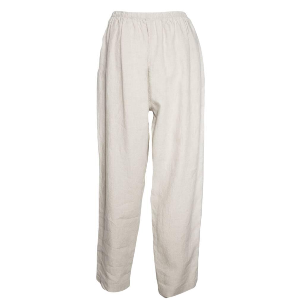 Bodil Bodil Slim Pants - Soft Beige/Brown