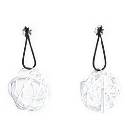 Nrk by Anarkh Ball Earrings