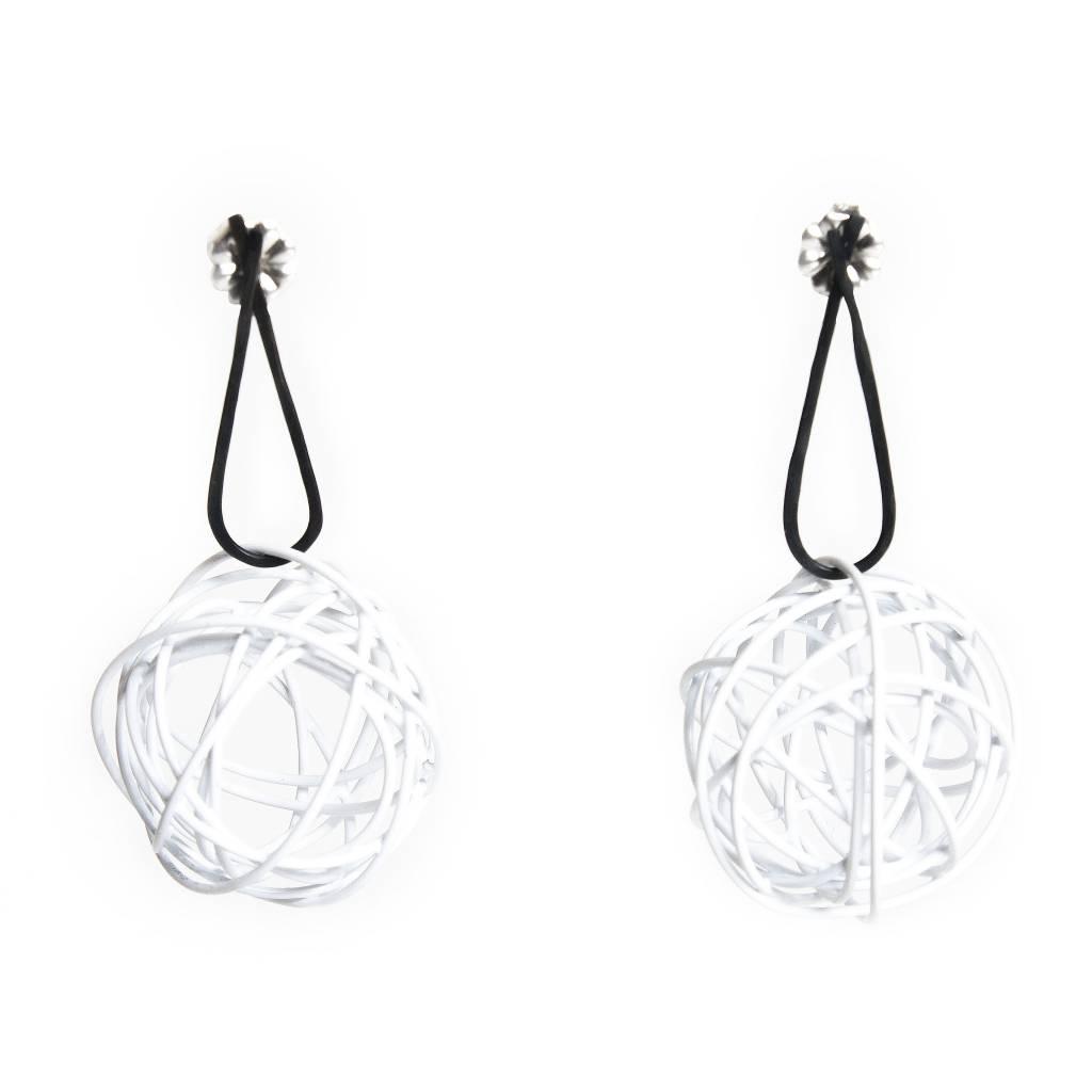 Nrk by Anarkh Ball Earrings