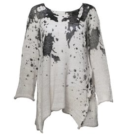 Skif Ozone Long Sweater - Black Splatter