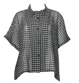 Dress To Kill Dress To Kill Cappy Shirt - B/W Check