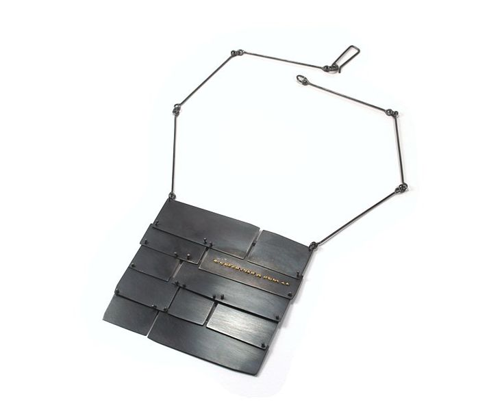 Lauren Markley Slate Roof Necklace