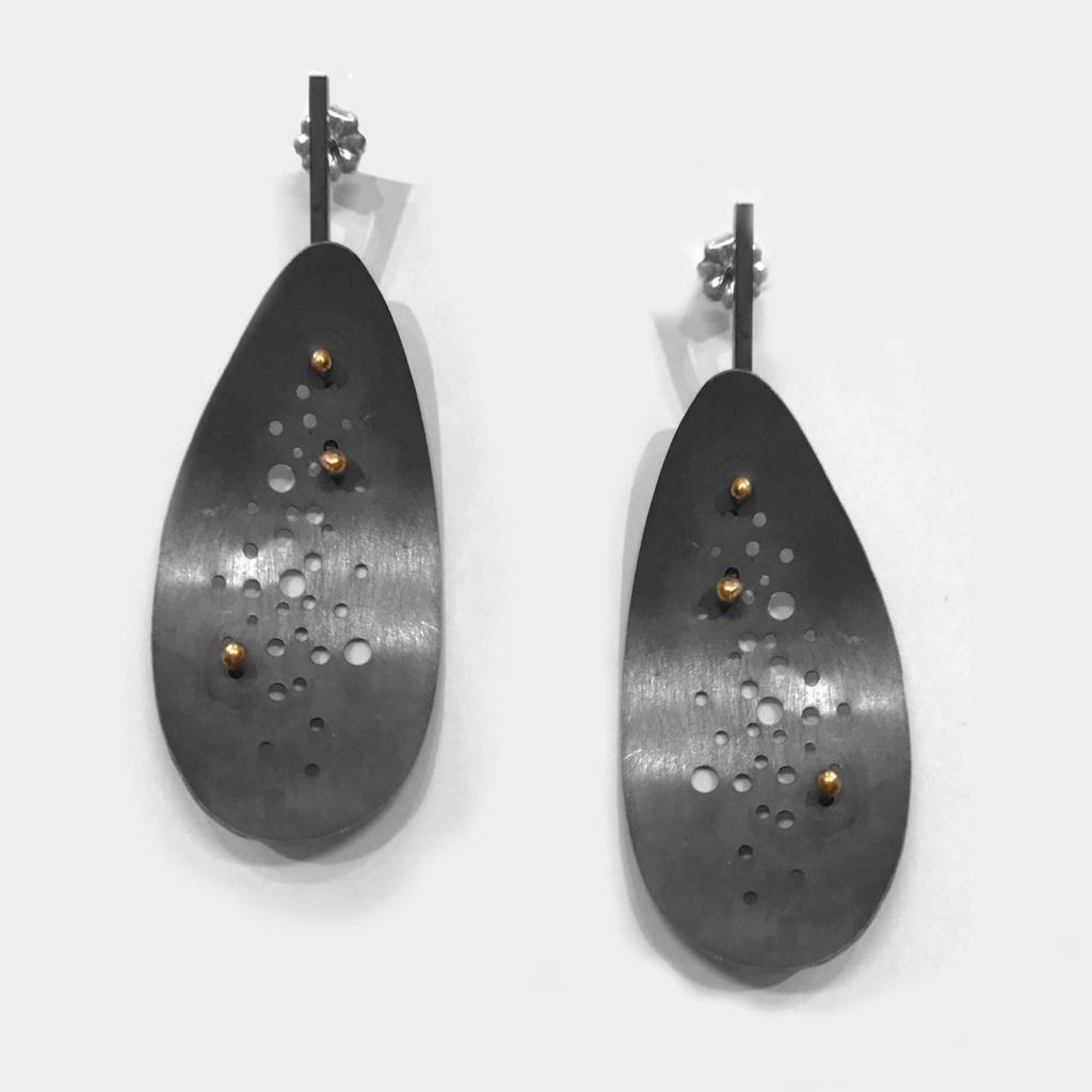 Lauren Markley Gold Dot Pinhole Earrings