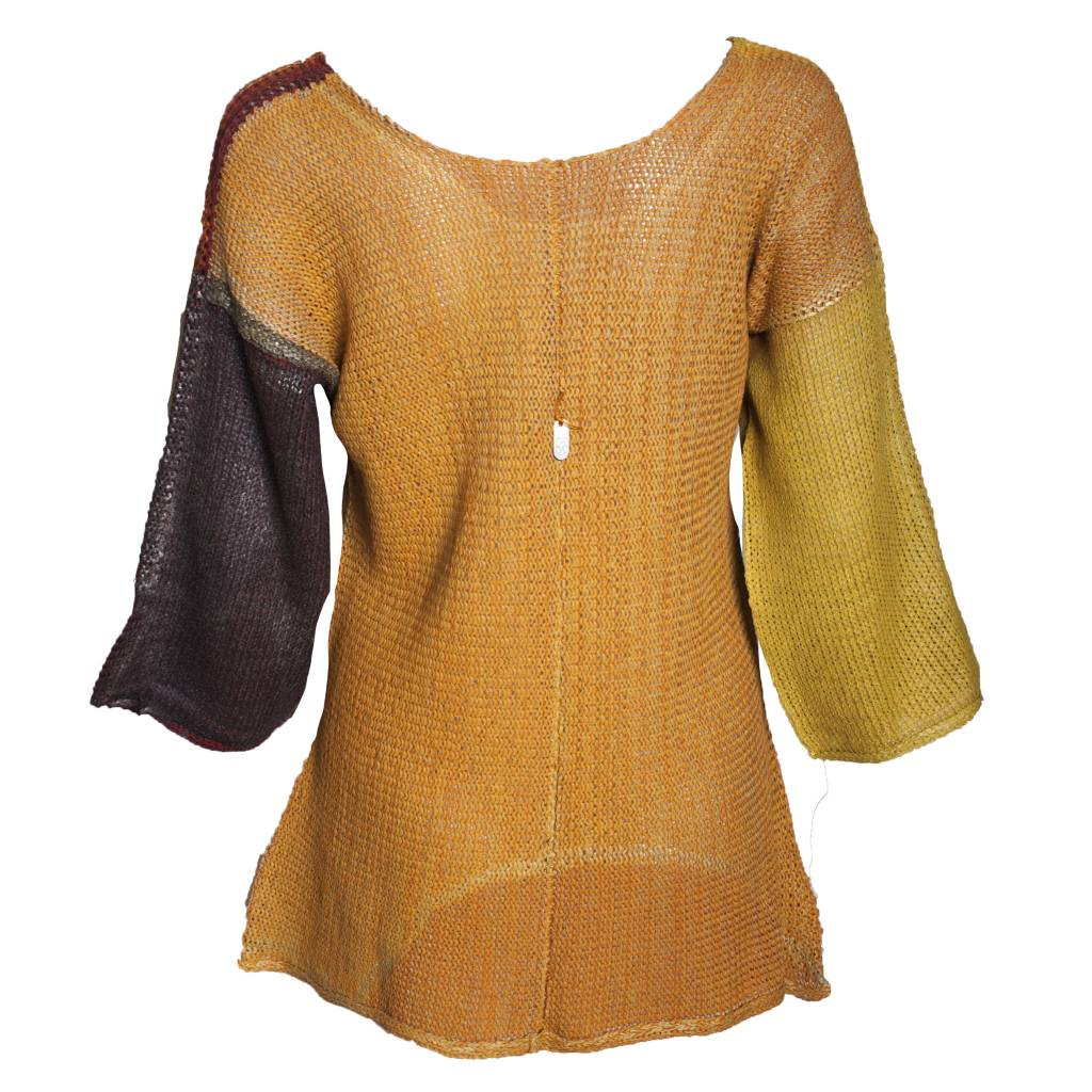 Skif Ki Sweater - Orange/Red/Mustard