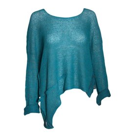 Skif Asym Sweater - Teal