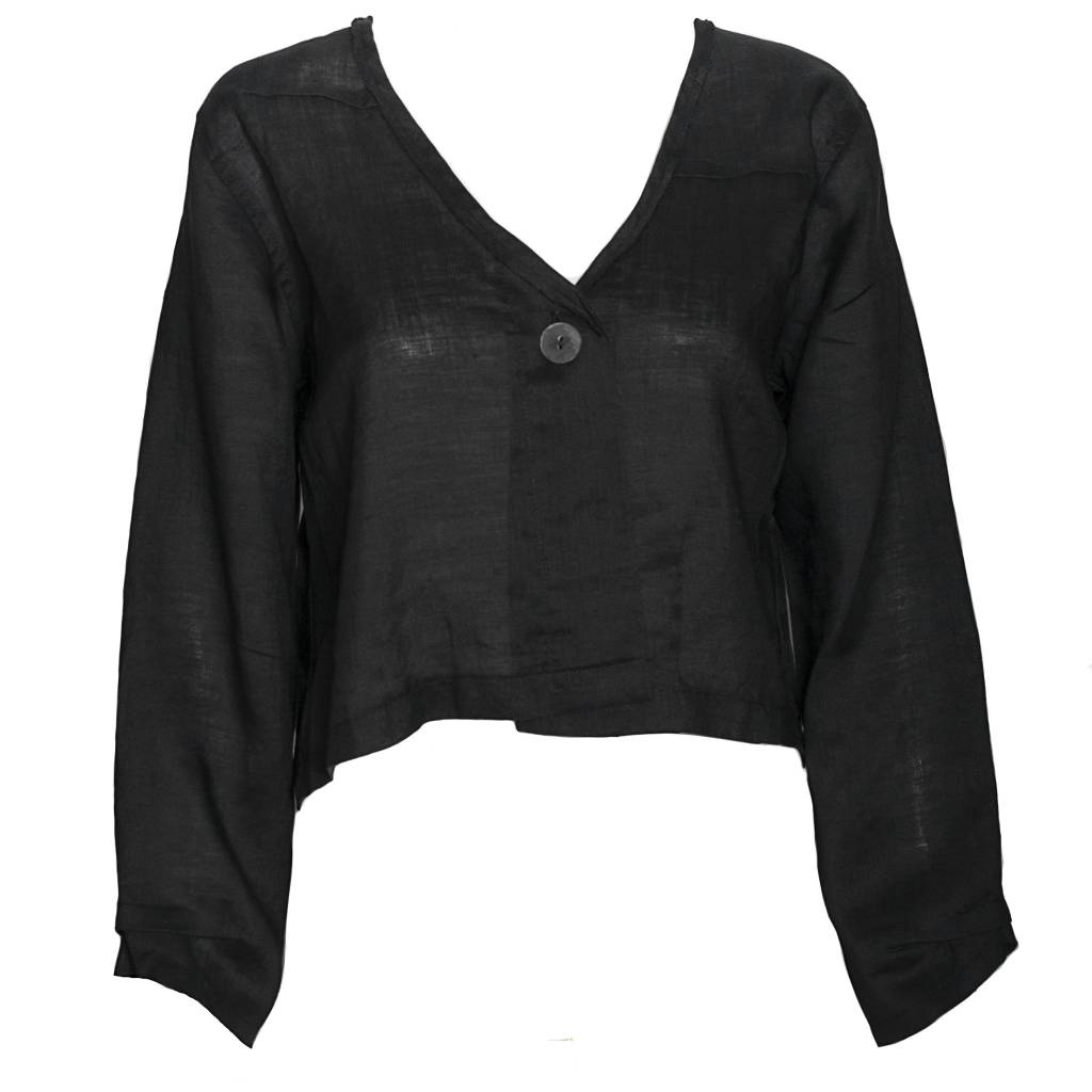 Bodil Bodil Crop Jacket - Black