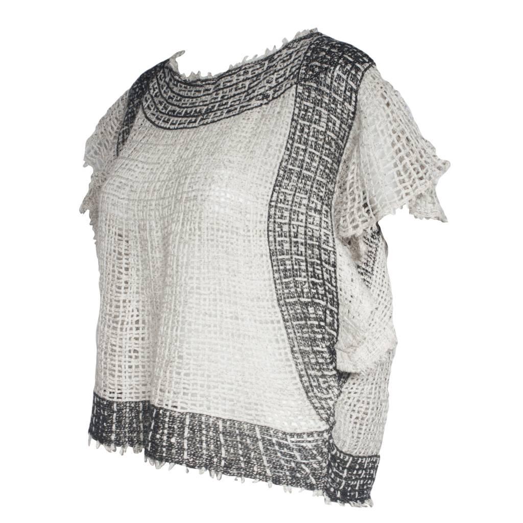 Pe De Chumbo Pe De Chumbo Sweater - Natural/Brown