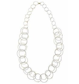 Meghan Patrice Riley Meghan Patrice Riley Interlocking Circles Necklace