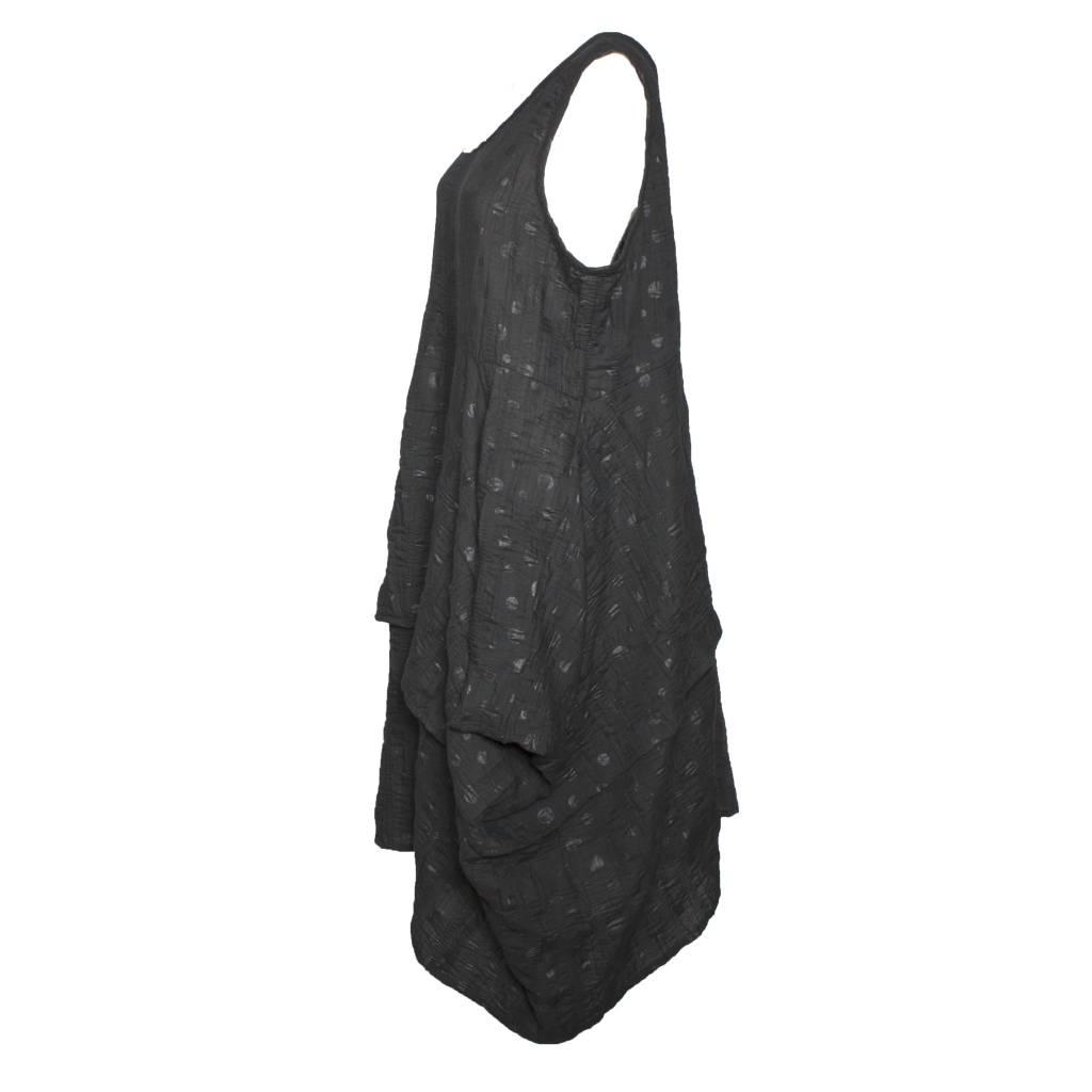 Dress To Kill Dress To Kill V Neck Dress - Black Circle