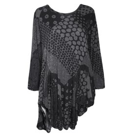 Dress To Kill Dress To Kill Tunic - Black Dots