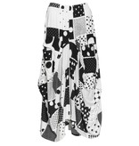 Dress To Kill Dress to Kill Big Pocket Skirt - B/W