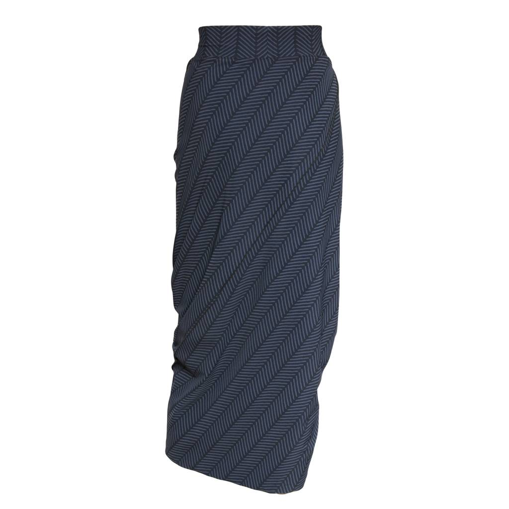 Porto Porto Napolean Long Skirt - Herringbone