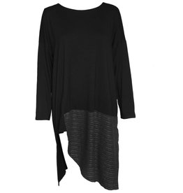 Avivit Yizhar Avivit Yizhar Tunic Dress - Black/Grey