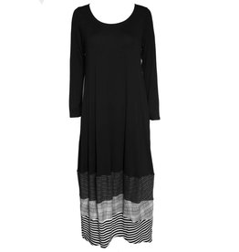 Avivit Yizhar Avivit Yizhar Long Dress - Black/Grey/White