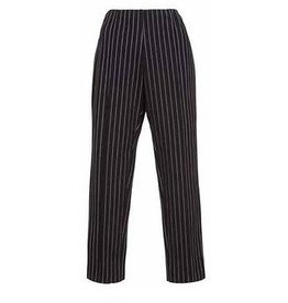 Alembika Alembika Pinstripe Pants - Black