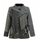 Alembika Alembika Chunky Knit Jacket - B/W