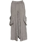 Avivit Yizhar Avivit Yizhar Pocket Skirt - Grey/Taupe Stripe